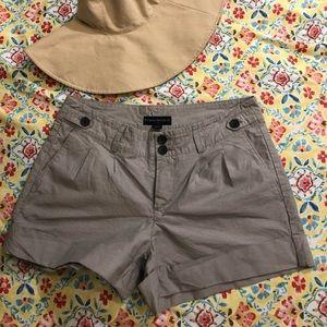 BR- Sz 6, Fine Blue/white Stripe shorts
